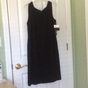 Liz Claiborne Perfect Black Dress NWT